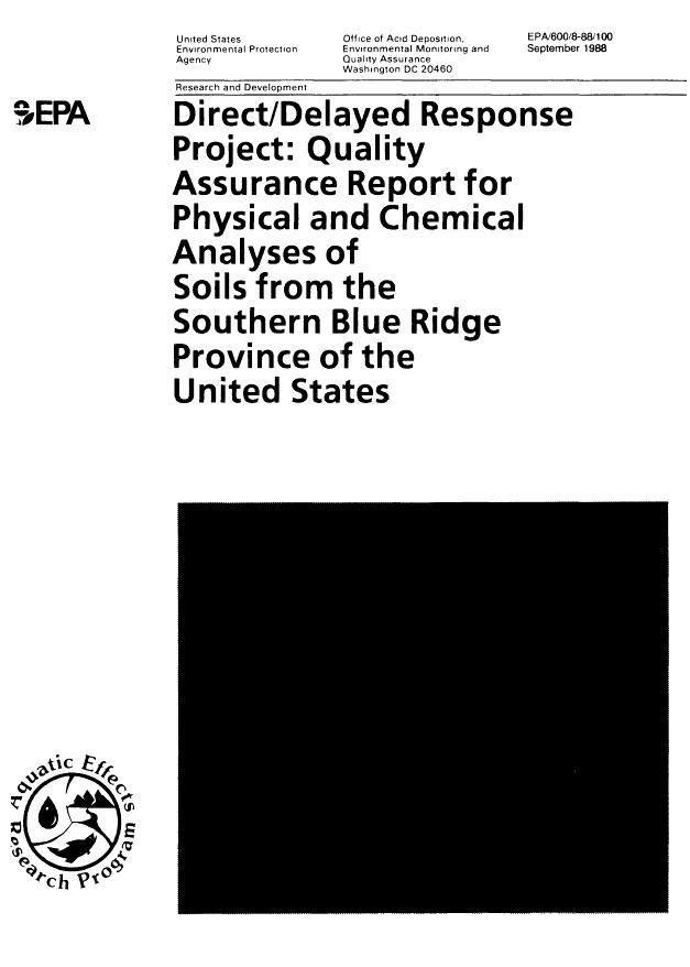 Document Display   NEPIS   US EPA